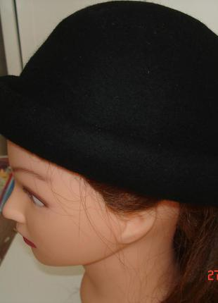 Шляпа шляпка 100% шерсть river island