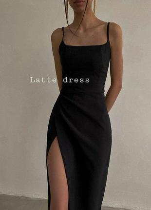 Платье вечернее силуэтное3 фото