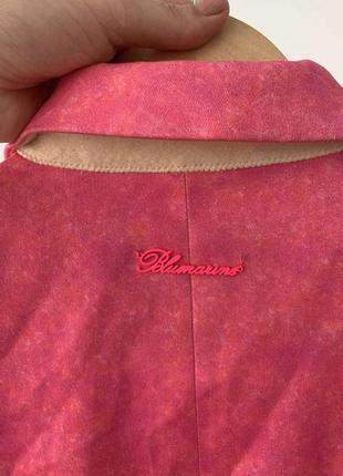 Пиджак blumarine ярко-розовый2 фото
