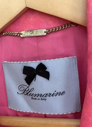 Пиджак blumarine ярко-розовый3 фото