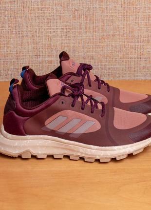 Женские трейловые беговые кроссовки adidas response trail x us7/eur38.5/25cм стелька