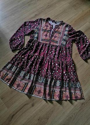 Вискозное платье. италия