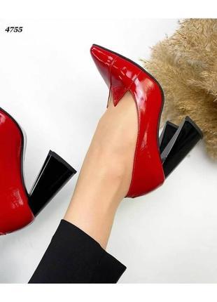 Роскошные туфли натуральная кожа новинка тренд сезона