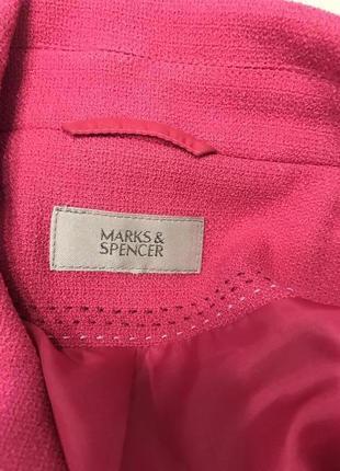Фирменный оригинальный фактурный пиджак marks&spencer4 фото