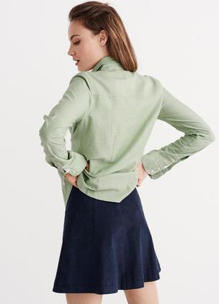 Зеленая рубашка abercrombie & fitch2 фото
