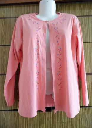 Блуза кофточка лето новая bonmarche размер хl – идет на 50-52+.