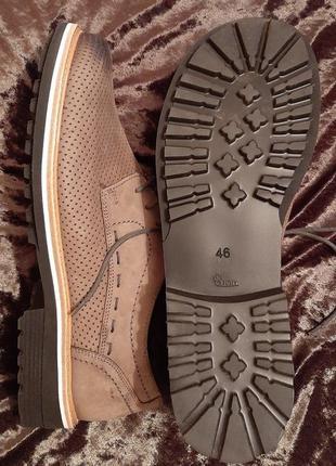 Туфли мужские кожаные фирмы helvesko швейцария.2 фото