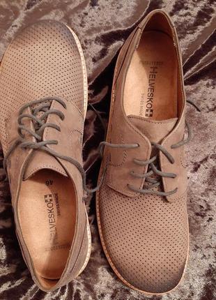 Туфли мужские кожаные фирмы helvesko швейцария.