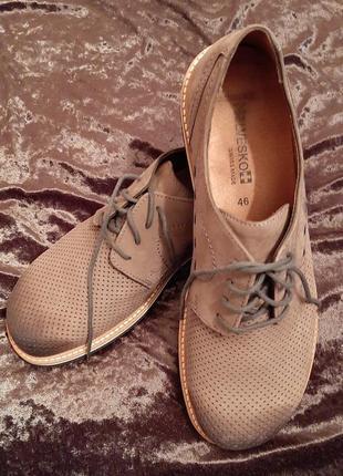 Туфли мужские кожаные фирмы helvesko швейцария.3 фото
