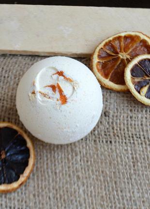 Бомбочка для ванны облепиха-апельсин