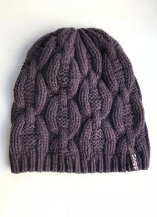 Стильная шапка 80% шерсти