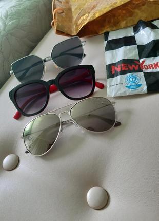Очки от солнца,капли,солнцезащитные,h&m.9 фото