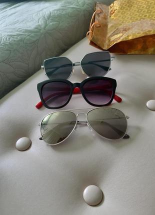 Очки от солнца,капли,солнцезащитные,h&m.8 фото