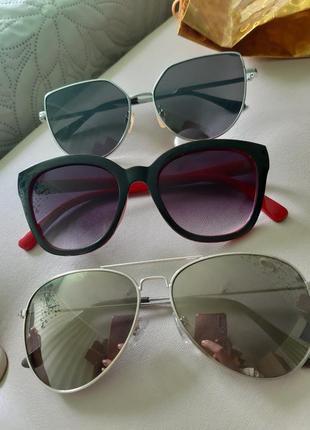 Очки от солнца,капли,солнцезащитные,h&m.7 фото
