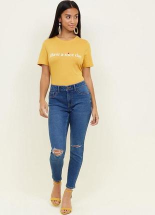 Ідеал! джинси скіни jenna з розрізами на колінах