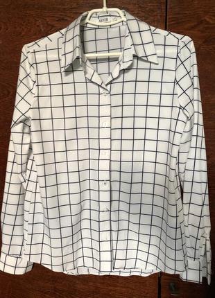 Женская рубашка с принтом