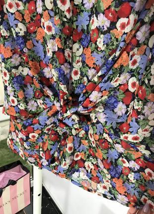 Футболка блузка envii s м в цветочный принт5 фото