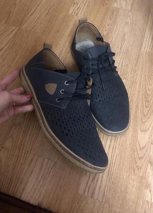 Мужские туфли весенние