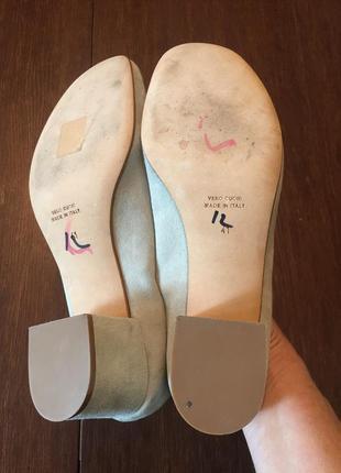 Легкие замшевые  туфли ballin 41 р ( 27 см).10 фото