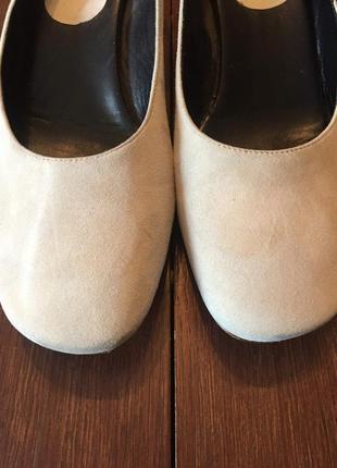 Легкие замшевые  туфли ballin 41 р ( 27 см).2 фото