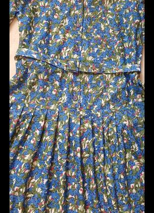 Платье винтаж ретро💐💐💐 сукня шикарна4 фото
