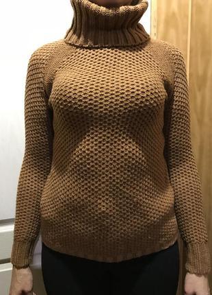 Очень тёплый, вязаный свитер pull&bear/