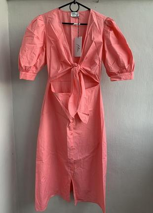 Красиве рожеве плаття na-kd