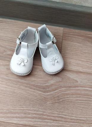 Туфельки pex на девочку 19 размер ,стелька 12 см .2 фото