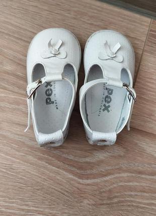 Туфельки pex на девочку 19 размер ,стелька 12 см .4 фото