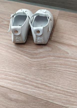 Туфельки pex на девочку 19 размер ,стелька 12 см .5 фото
