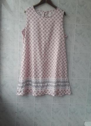 Ночнушка атласна домашнє плаття