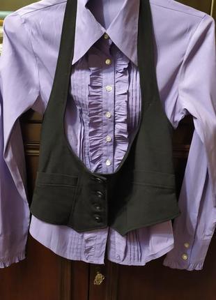 Блуза+жилетка-портупея