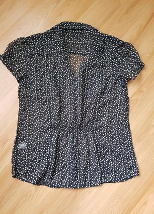 Блузка, блуза в горошек2 фото