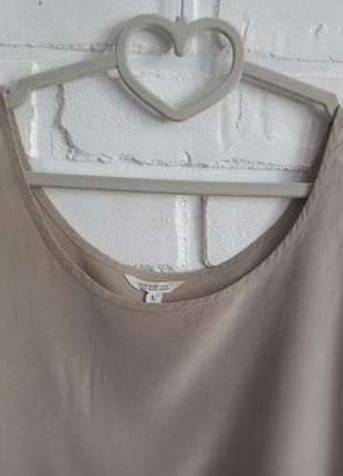 Базовый шелковый топ2 фото