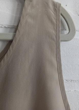 Базовый шелковый топ4 фото