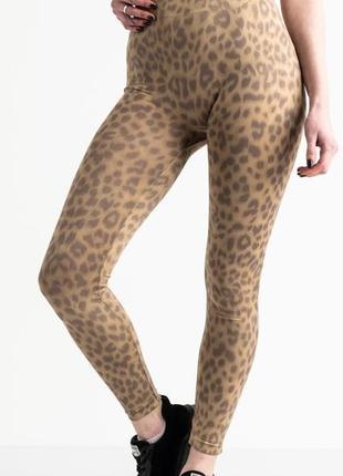 Женские фирменные леопардовые лосины zara, стрейчевые, весенне-летние.