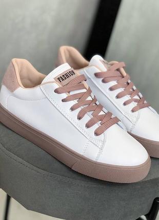 Кеды белые кросовки