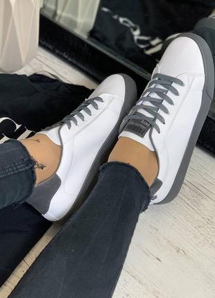 Кеды белые кросовки6 фото