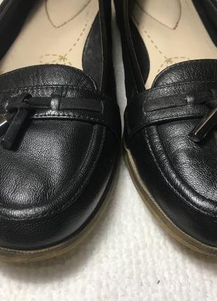 Лоферы, туфли кожаные.2 фото