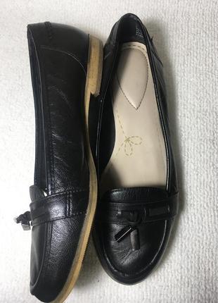 Лоферы, туфли кожаные.3 фото