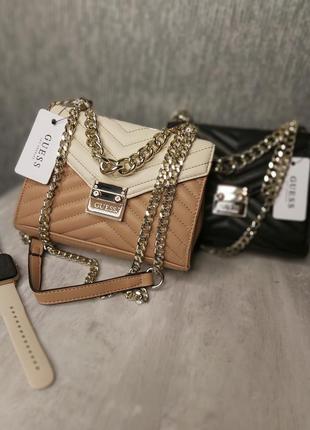 Новая стильная сумка guess гесс