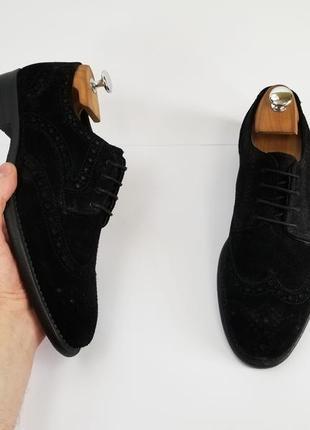 Черные броги туфли6 фото