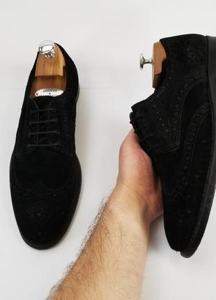 Черные броги туфли2 фото