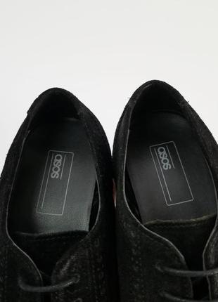 Черные броги туфли4 фото