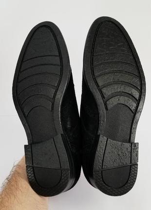 Черные броги туфли3 фото