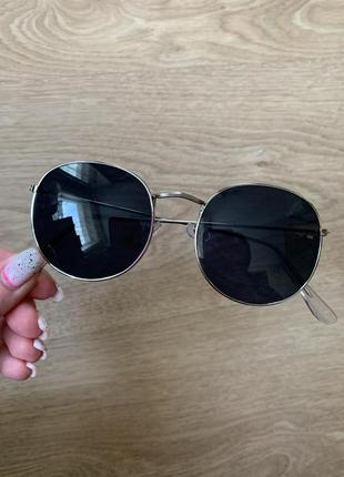 Стильные круглые солнцезащитные очки в стиле ray ban1 фото