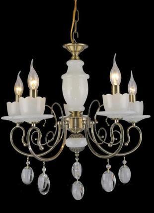 Классическая люстра под лампы-свечи