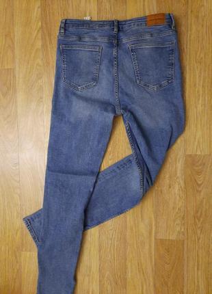 Очень классные джинсы zara мом плотные с высокой талией скинни !3 фото