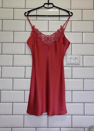 Шелковая ночная сорочка marjolaine la perla