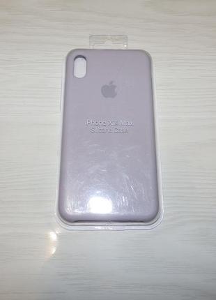 Чехол для iphone xs max silicone case